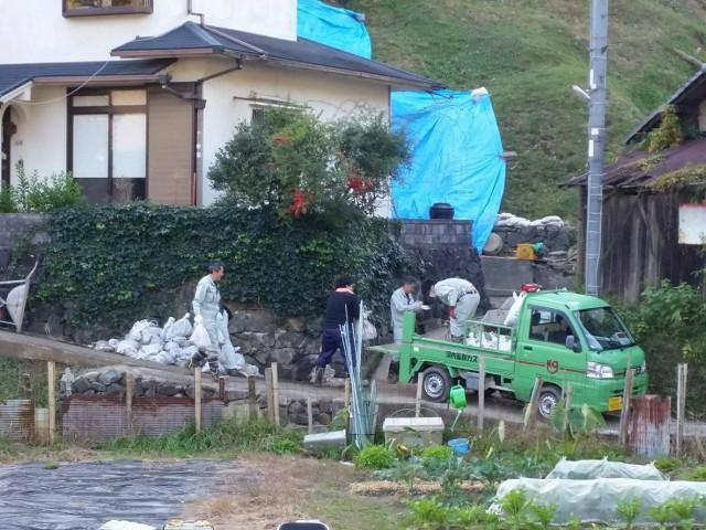 災害ボランティア写真(2017.11.10)