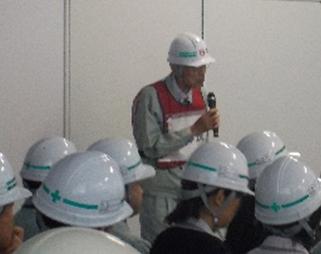 地震訓練写真(2019.10.1)
